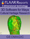 Geomagic 3D software for maya research