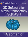 3D software Geomagic Maya Mesoamerica ethnobotany squash guicoy