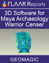 3D software Geomagic Teotihuacan Mayan archaeology influence artifact warrior censer Guatemala