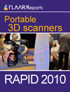 Portable 3D scanners at Rapid 2010