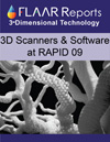 3d scanners and 3d modeling software at RAPID 2009 Conference