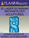 3d laser scanning Mesoamerica archaeology sculptures serpents Bilbao Cotzumalhupa