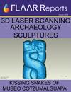 3d laser scanning Mesoamerica archaeology sculptures serpents Bilbao Cotzumalhupa